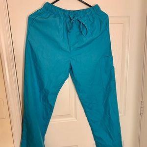 Blue Scrub Pants